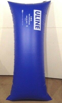 "1 pc new ULINE 36""X84"" VINYL DUNNAGE AIR BAGS S-8012 HOLDS 9.8mil REUSABLE 4X"