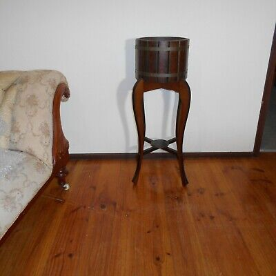 Antique Victorian Plant Stand Planter Potplant Timber Furniture