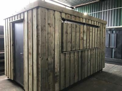 12ft x 8ft Shipping Container Bar/coffee shop/fast food Conversion - Manchester