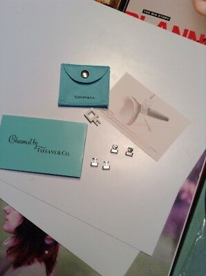 Tiffany & Co. Eyeglass Charms Kit- 4 Pieces With Instructions & Pouch..