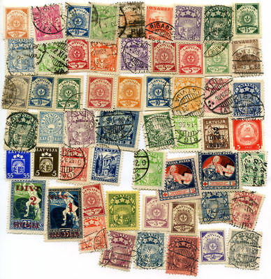 Latvia Stamps 57 Different