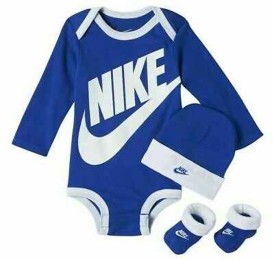 0493f25a3 NIKE FUTURA 3 Piece Set Infant Baby Boy Size 6-12 Month (Ha2199 489 ...