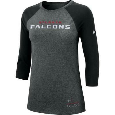 outlet store a3434 2cee0 NIKE ATLANTA FALCONS Women's Sz S Grey/Pink Breast Cancer ...