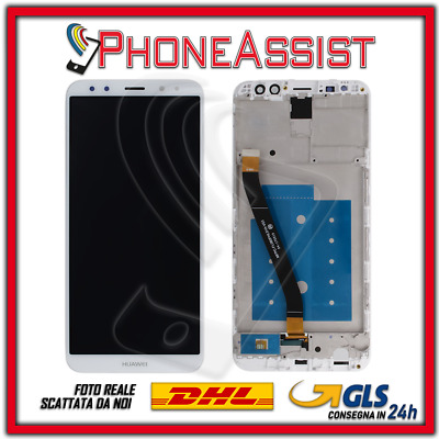 DISPLAY LCD VETRO TOUCH FRAME Huawei Mate 10 Lite RNE-L01 RNE-L21 RNE-L23 Bianco