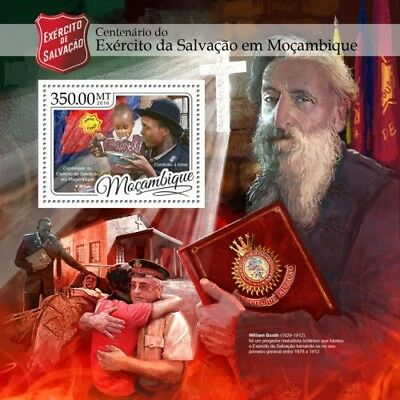 Mozambique 2016 Sheet Mnh Salvation Army Ejercito De Salvacion 5A