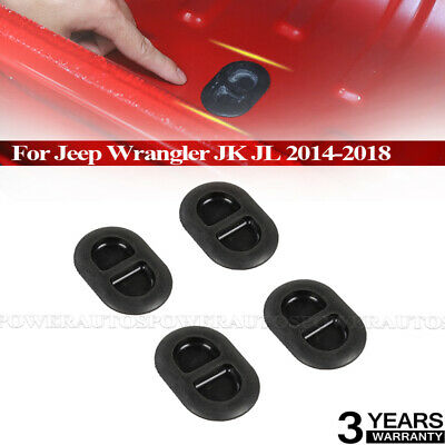 Fit Jeep Wrangler JK JL 14-18 Oval Shaped Rubber Floor Plug Drain Hole Cover NEW