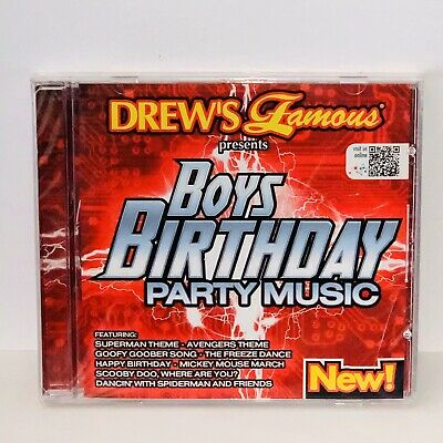 DREW'S FAMOUS KIDS BIRTHDAY Sing-a-long PARTY SHOW: CD New