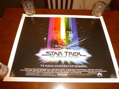 Star Trek The Motion Picture 28x22 movie poster reproduction epson semi-gloss