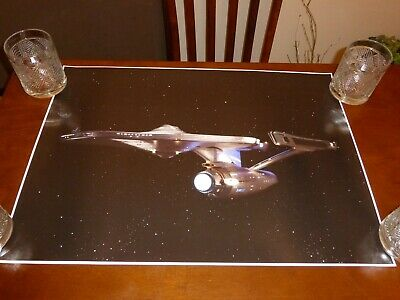 Star Trek The Motion Picture Enterprise epson photo 1 poster 24x17