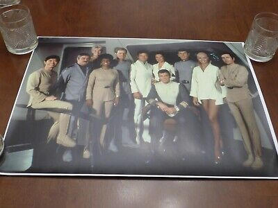 Star Trek The Motion Picture cast on bridge #1 epson photo poster 24x15.5