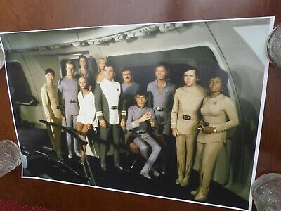 Star Trek The Motion Picture cast on bridge #2 epson photo poster 24x17.5