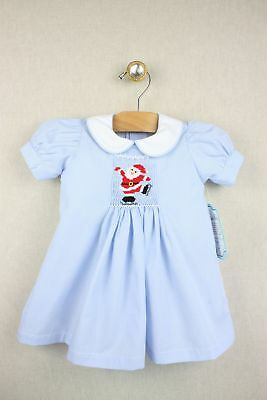 25e194df98e9 SMOCKED BLUE BUTTERFLY Sleeves BISHOP REMEMBER NGUYEN New 2T ...