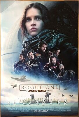 ROGUE ONE A STAR WARS STORY MOVIE POSTER 2 Sided ORIGINAL INTL FINAL NM 27x40