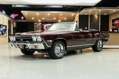 1968 Chevrolet Chevelle SS Convertible Frame Off, Nut & Bolt Built, True SS! 396ci V8, 700R4 OD Automatic, PS, PB, A/C