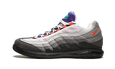 aac6d0ca8aa2a NIKE ZOOM VAPOR RF Roger Federer x AM 95 Greedy Black Volt New ...