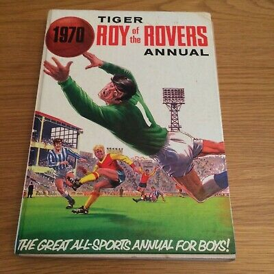 1970 Roy of the Rovers Annual