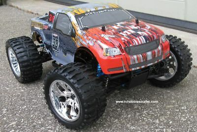 RC Monster Truck Brushless Electric 1/10 PRO LIPO 2.4G 4WD 1 Yr Warranty 88043
