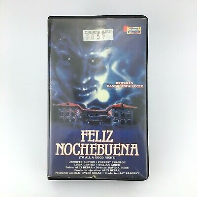 FELIZ NOCHEBUENA David Hess 1980 To All a Goodnight HORROR CULT VHS see pictures