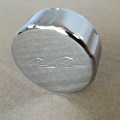 "Chrome Brake Fluid Reservoir Cap Cover ""RR""For 2004-2008 Honda CBR 1000RR"