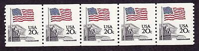PNC5 20c Flag 12  US 1895a   MNH  F-VF