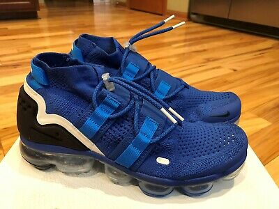 wholesale dealer 85ee6 56ebd NIKE AIR VAPORMAX Flyknit Utility Game Royal Black Blue AH6834 400 Size 11.5