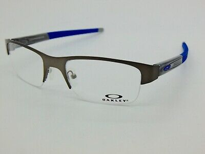 1e8aba066d NEW Authentic OAKLEY CROSSLINK 0.5 OX3226-0253 Pewter 53mm Rx Eyeglasses