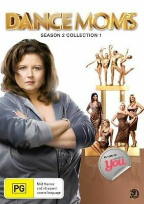 DANCE MOMS - SEASON 2 COLLECTION 1   -  DVD - UK Compatible - New & sealed