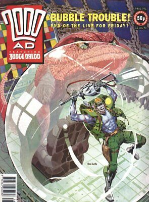 2000AD PROG 791 DREDD Button Man Bk 1, Rogue T ends, Zenith  Phase 4  1st issue
