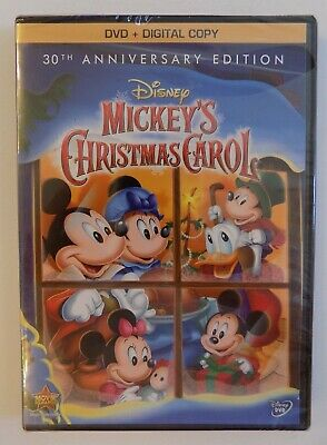 Mickeys Christmas Carol Dvd.Disney Mickey S Christmas Carol Dvd Digital 30th Anniversary Edition New
