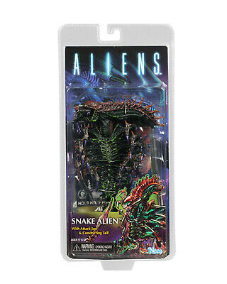 "Aliens Series 13 SNAKE ALIEN 7"" Scale Action Figure NECA Kenner Tribute"