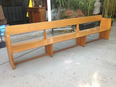 Church Pew,bench seat 10ft long
