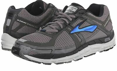50% OFF---Brooks 110196 Men's Addiction 12 Grey Blue White Control Running Shoe
