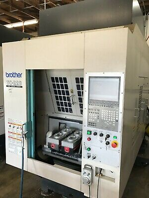 2011 Brother TC-R2B Tapping Center (2) 4th Axis Rotary Table & Side Spindles