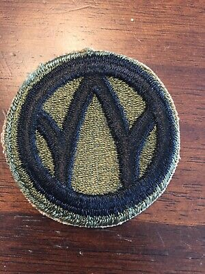 89TH INFANTRY DIVISION WWII WW2 Patch US Army France Germany
