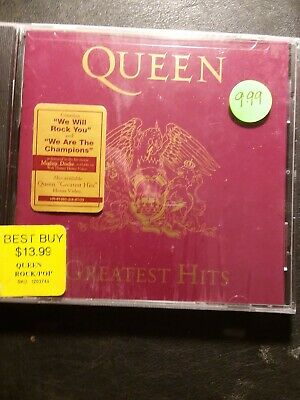 QUEEN,Greatest Hits CD,NEW! 17 Best Hits Freddie Mercury, Brian May,Roger Taylor
