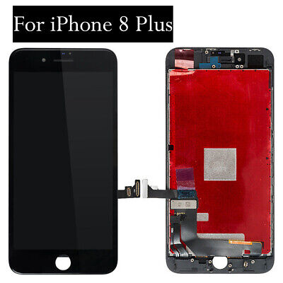 For iPhone 8 Plus 8P Display Screen Replacement LCD Digitizer Assembly Black