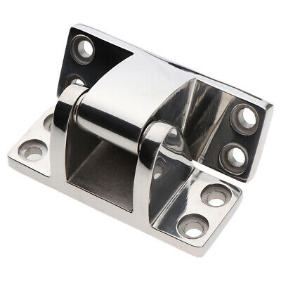 4PCS BOAT STAINLESS Steel Door Hinges Hardware for Gate/cabinet