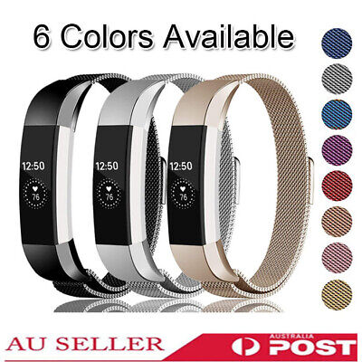 Replacement Band For Fitbit Alta HR Magnetic Stainless Steel Wrist Watch Band