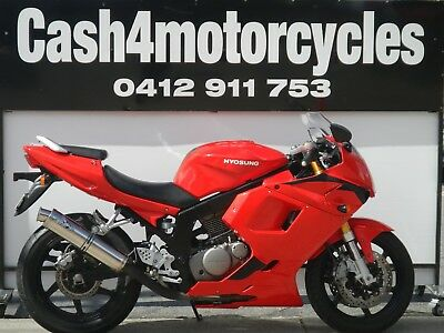 Hyosung Gtr 250 In Fantastic Condition Great Value  @ $1990