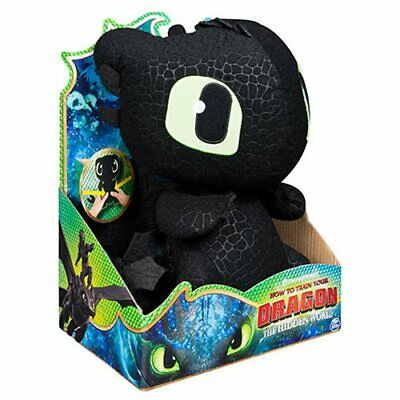 How to Train Your Dragon NEW * Toothless Squeeze and Growl Plush * Toy 10-Inch