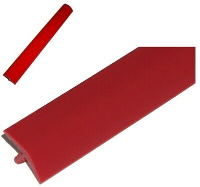 T-Moulding RED per 10 foot Length (3 METER) 18mm Wide for Arcade [34]