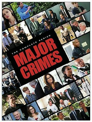Major Crimes - The Complete Series Season 1 2 3 4 5 & 6 Brand New Sealed DVD 1-6