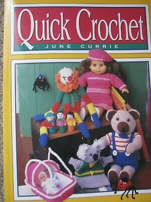QUICK CROCHET June Currie - TOYS, GIFTS, KIDS TOPS