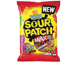 Sour Patch - Max Super Sour (20 x 220g bags)