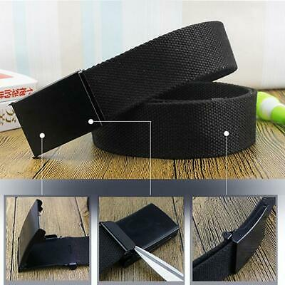Men's Fashion Outdoor Sports Military Tactical Nylon Waistband Canvas Belt FW
