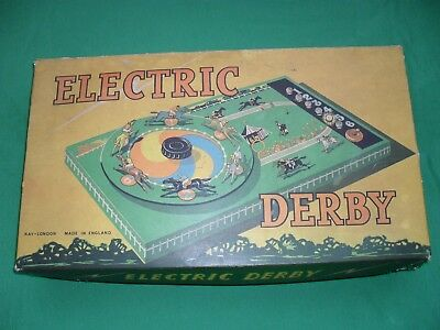 ELECTRIC DERBY Board Game
