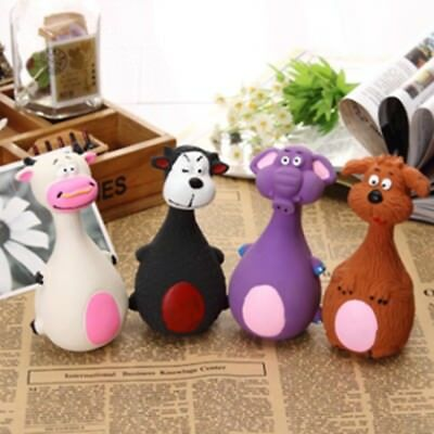 1Pcs Cute Dog toy Play Pet Puppy Chew Squeaker Squeaky Plush Sound Toys