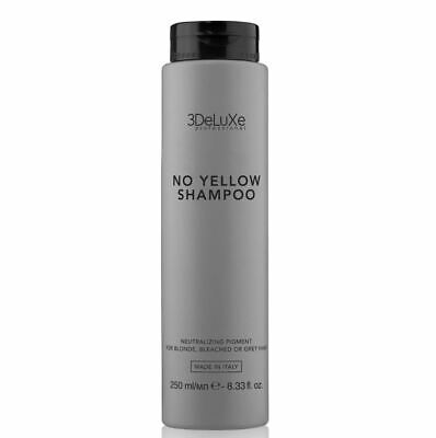 3DeLuXe Professional No Yellow Shampoo  250 ml