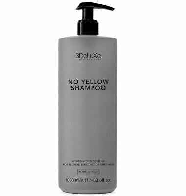 3DeLuXe Professional No Yellow Shampoo 1000 ml