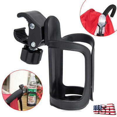 Motorcycle Cycling Bicycle Handlebar Baby Drink Water Bottle Cup Holder Cage USA